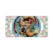 Chinese Dragon Aluminum License Plate