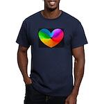 Rainbow-Heart T-Shirt