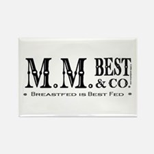 Breastfed is Best Fed Rectangle Magnet