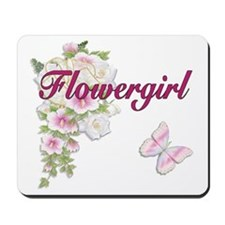 Bouquet Wedding - Flower Girl Mousepad