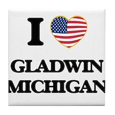 I love Gladwin Michigan Tile Coaster