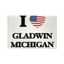 I love Gladwin Michigan Magnets