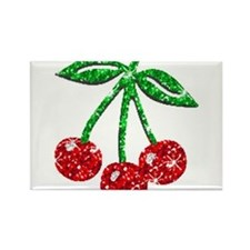 Cute Cherry Rectangle Magnet (10 pack)