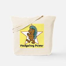Hedgehog Power Tote Bag