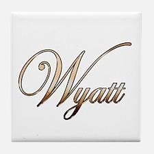 Gold Wyatt Tile Coaster