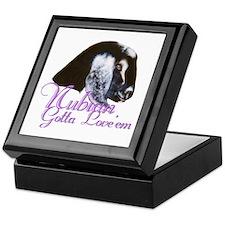 Nubian Goat Gotta Love 'em Keepsake Box