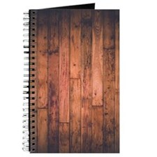 Old Wood Planks Journal