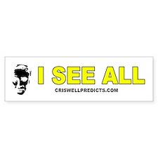 Criswell Predicts Bumper Sticker