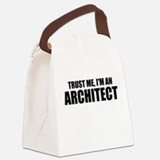 Trust Me, I'm An Architect Canvas Lunch Bag