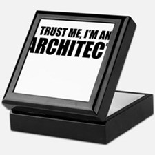 Trust Me, I'm An Architect Keepsake Box