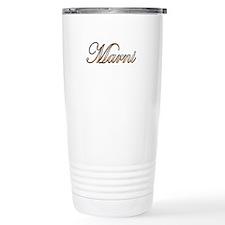 Gold Marni Travel Mug