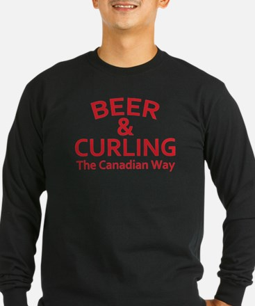 Beer and Curling T
