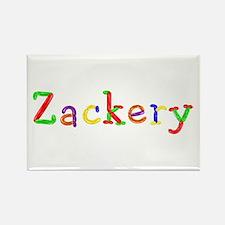 Zackery Balloons Rectangle Magnet