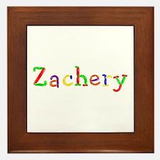 Zachery Balloons Framed Tile