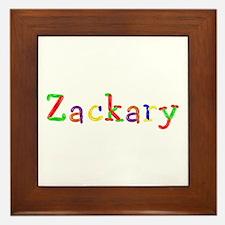 Zackary Balloons Framed Tile