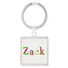 Zack Balloons Square Keychain