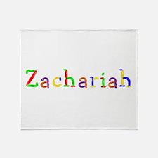 Zachariah Balloons Throw Blanket