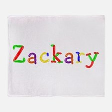 Zackary Balloons Throw Blanket