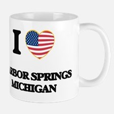 I love Harbor Springs Michigan Small Small Mug