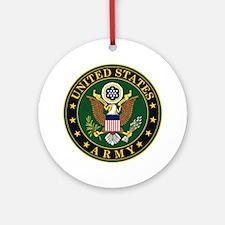 U.S. Army: Army Symbol Round Ornament