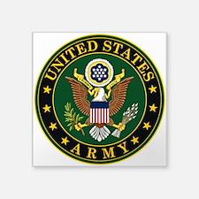 "U.S. Army: Army Symbol Square Sticker 3"" x 3"""
