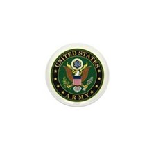 U.S. Army Eagle Emblem Mini Button