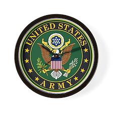 U.S. Army Eagle Emblem Wall Clock