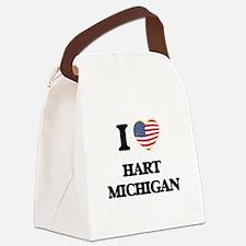 I love Hart Michigan Canvas Lunch Bag