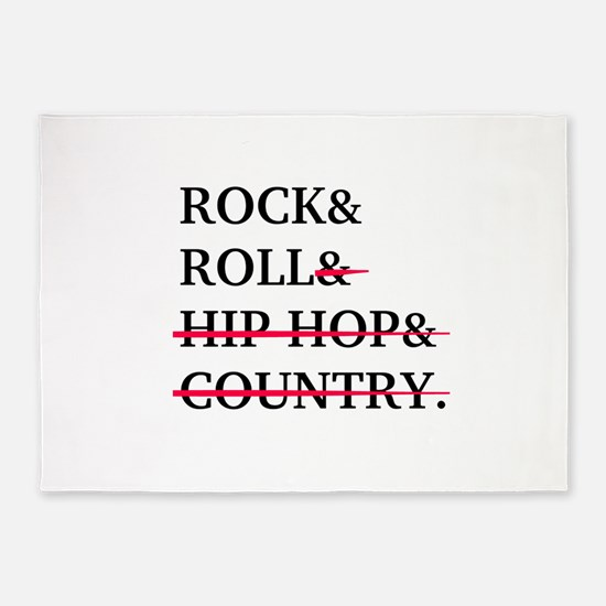 Rock and Roll 5'x7'Area Rug