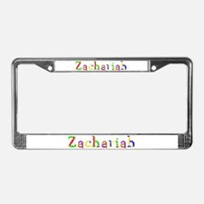 Zachariah Balloons License Plate Frame