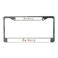 Zackery Balloons License Plate Frame