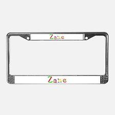 Zane Balloons License Plate Frame