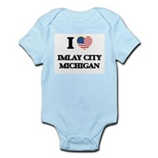 I love Imlay City Michigan Body Suit