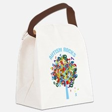 Autism Rocks Canvas Lunch Bag