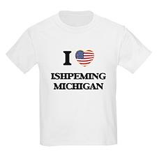 I love Ishpeming Michigan T-Shirt
