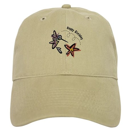 Hummingbird Birthday Cap