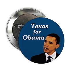 Texas for Obama Campaign Button