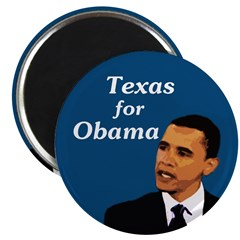 Texas for Obama Collectors Magnet