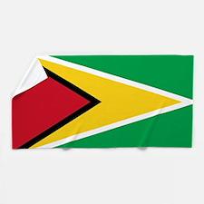 Flag of Guyana Beach Towel
