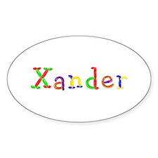 Xander Balloons Oval Decal