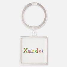 Xander Balloons Square Keychain