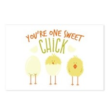 One Sweet Chick Postcards (Package of 8)