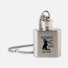 Championships earned Flask Necklace
