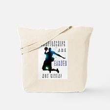 Championships earned Tote Bag