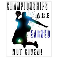 Championships earned Framed Print