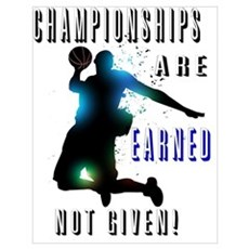 Championships earned Poster