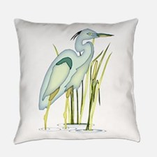 Heron Everyday Pillow
