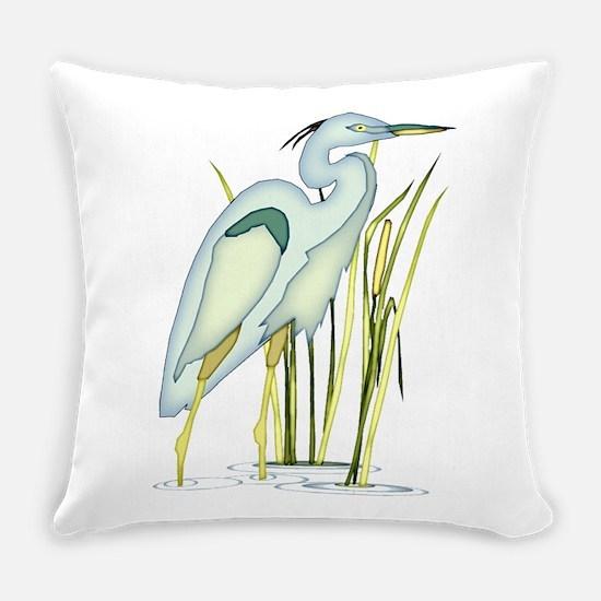 Heron Everyday Pillow