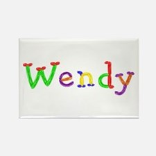 Wendy Balloons Rectangle Magnet