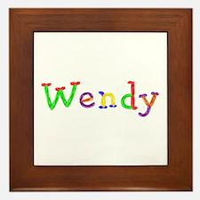 Wendy Balloons Framed Tile